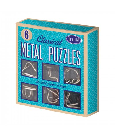 Retr-Oh - 6 Metal Puzzles