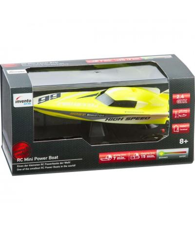"RC: Mini Power Boat ""Yellow"""