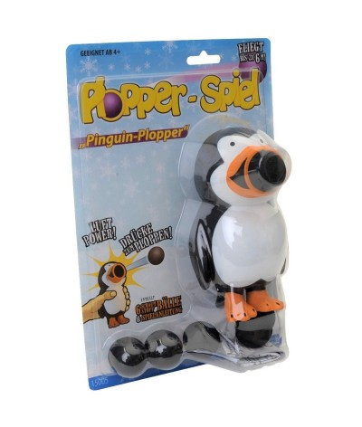 Plopper pinguin, incl. 6...